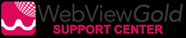 WebViewGold Support Center